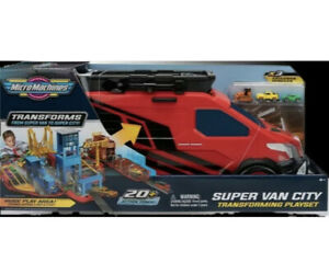 Micromachines Transforms Super Van to super City NEW TOYS CARS Micro Machines