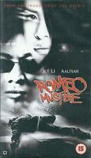 ROMEO MUST DIE - JET LI - 15 CERT - VHS VIDEO UK PAL