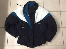 Cb Sports Ladies Ski Snowboarding Jacket Black Blue & White Insulated Christi 14