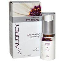 Aubrey Organics - Lumessence Eye Cream, All Skin Types, .5 fl oz (15 ml)
