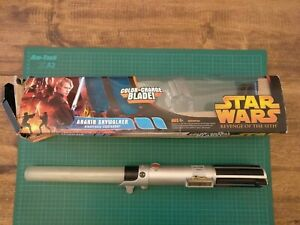 Star Wars Revenge Of The Sith Anakin Skywalker Color-Changing Blade - Boxed