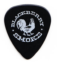Blackberry Smoke Rooster Logo Black Guitar Pick - 2016 Tour