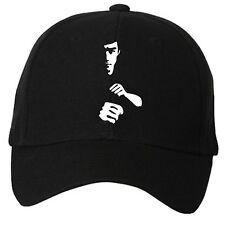 New Bruce Lee Unisex Cotton Cap Baseball Cap Sports Hats Black