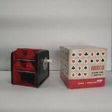 PLAYING CARD SHUFFLER ARRCO FOR 1-2-3 DECKS HAND CRANK
