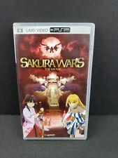 Sakura Wars: The Movie (Sony PSP, 2006, UMD Video) CIB Complete *RARE OOP* Anime