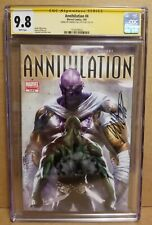 ANNIHILATION #4 CGC 9.8 SS *SIGNED* BY GABRIELE DELL'OTTO THANOS & DRAX 2007