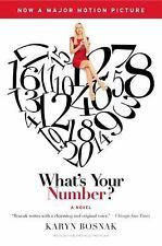What's Your Number?: A Novel - LikeNew - Bosnak, Karyn - Paperback
