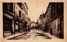 CPA Buzancais Rue Grande Le coup de balai (611582)