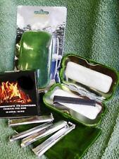 2 x Taschênofen + 20 Kohle-Brennstäbe Handwärmer Taschenwärmer für Brennstifte