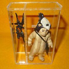 Vintage 1983 Star Wars Logray Ewok Figura De Acción Suelta Completo UKG 85% Poco Común