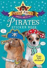 Pirates Sticker Book: Over 250 Stickers (Star Paws Animal Dress-Up), Macmillan C