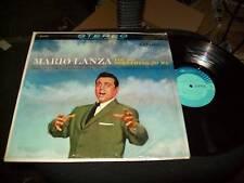 Mario Lanza-you Do Something To Me-shrink Lp-rca Camden
