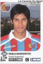 BARRIENTOS # ARGENTINA CALCIO CATANIA RARE UPDATE STICKER CALCIATORI 2012 PANINI