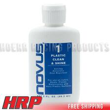 Novus #1 Plastic Polish Clean & Shine, 2oz. Bottle