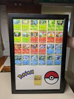 2021 McDonald's Display Pokemon 25th Anniversary Trading Cards Happy Meal
