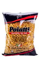 Pasta Anellini Poiatti grano 100% Siciliano Anelletti Anelli Pacco da 1kg