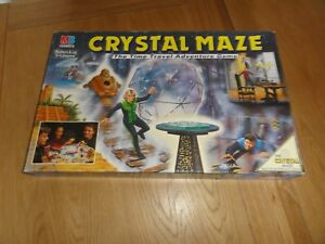 CRYSTAL MAZE BOARD GAME - COMPLETE (GOOD CONDITION)