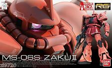 Gundam 1/144 RG #02 Char's Aznable MS-06S Zaku II Real Grade Model Kit 65511
