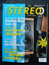 STEREO 2/03 TRIANGLE MAGELLAN.PIONEER VSA AX 10 i,YAMAHA DSP AZ 1,SONUS FABER C