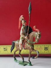 ROMAN SOLDIER W/ SHIELD & SPEAR ON HORSE HEYDE MIGNOT FRANCE BRITAINS TIMPO