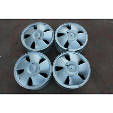 Set 4 cerchi in lega 15x6J ET49 4x100 Opel Vectra B 95-02 usati (22479 83-5-C-1)