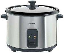 Breville 1.8L 8 Cup Rice Cooker Food Steamer Keep Warm Non Stick ITP181
