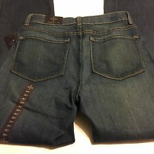 """NYDJ Not Your Daughters Jeans Modern Boot Leg Bootcut Denim Size 8P x 29.5"""" NWT"""