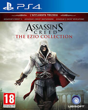 Assassin's Creed The Ezio Collection PS4 Playstation 4 IT IMPORT UBISOFT