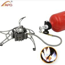 Outdoor Camping Stove Cooker Equipment Portable Multi Fuel Stoves Gas Burner APG