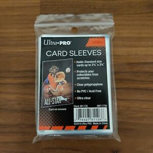 """Ultra Pro Card Sleeves (25ct) - Soft Penny Standard 2-5/8"""" x 3-5/8"""" Sleeve"""