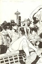 Freelancers Emerald City Comic Con Exclusive Cover - 2012 art by Reilly Brown