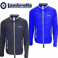 Lambretta Jacket Mens Lightweight Zip Thru Mod Full Zip Coat Nylon New
