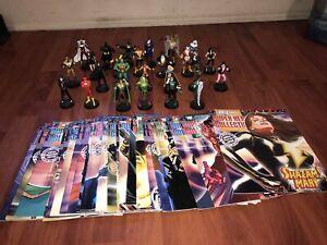 EAGLEMOSS Figure & Magazine DC Super Hero LOT OF 25 FIGURE WITH MAGAZINE