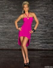 FASHION SEXY ROBE DOS NU ROSE taille 36/38 s/m