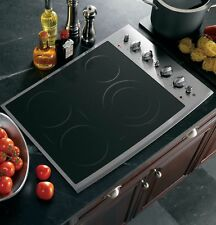 """*NEW* GE PROFILE PP932SMSS 30"""" ELECTRIC SMOOTHTOP COOKTOP STAINLESS STEEL *NEW*"""