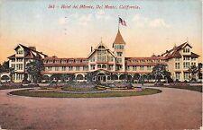 California postcard Del Monte Hotel del Monte ca 1914