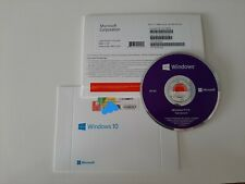 NEW MS Windows 10 Pro 64Bit Installatio Disc + Activation License Sticker Key ✅