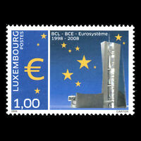 Luxembourg 2008 - Tenth Anniversary of Eurosystème Europa - Sc 1228 MNH