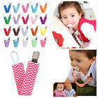 Toddler Dummy Pacifier Soother Nipple Leash Strap Chain Clip Baby Holder Buckles