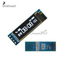 "0.91"" IIC I2C SPI 128x32 White OLED LCD Display Module For Arduino PIC"