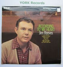 JIM REEVES - According To My Heart - Ex LP Record RCA International INTS 1013