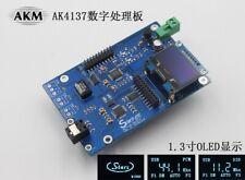 HIFI AK4137 DAC SRC Flagship High-end Audio 384K 32Bit DSD256 DSD IIS Conversion