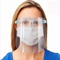 Face Shield Full Face Visor Protection Mask Shield Clear Safety Transparent PPE