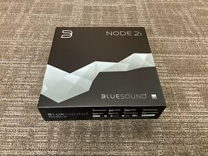 Bluesound NODE 2i Media Streamer - White, Roon, MQA, AirPlay, save $100