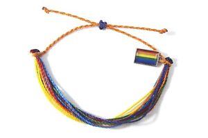 handmade friendship bracelets LGBT flag unisex