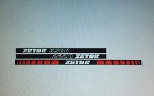 Zetor 3320 tractor stickers / decals