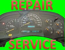 Repair Service for 2003-2006 03-06 Chevrolet Silverado Instrument Panel Cluster