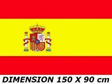 DRAPEAU 150 x 90 cm ESPAGNE ESPAGNOL ESPAÑA FLAG no maillot fanion écharpe ...