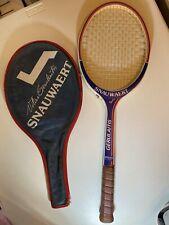 "SNAUWAERT Vitas Gerulaitis Autograph Series Racquet 4-1/2"" W/cover"