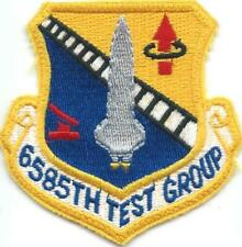 PATCH USAF   6585th TEST GROUP